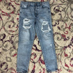 American Eagle Next Level Stretch Ankle Jeans 14 R